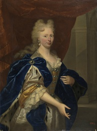 Dorothea Sophie of Neuburg, Charles' guardian and regent of Parma