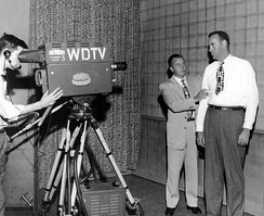 WDTV broadcast of We, the People on April 18, 1952. The guest is New York Yankees player Bill Bevens.