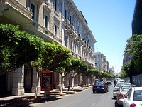 Istiqlal Street in central Tripoli