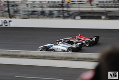 Indy Lights racing at 2019 Freedom 100.