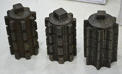 The Jugantar party possessed cast iron bomb shells those manufactured in 1930 by themselves.
