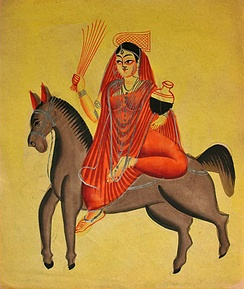 The Hindu goddess Shitala was worshipped to prevent or cure smallpox.