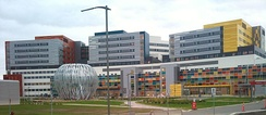 The newly built McGill University Health Centre at the Glen Site