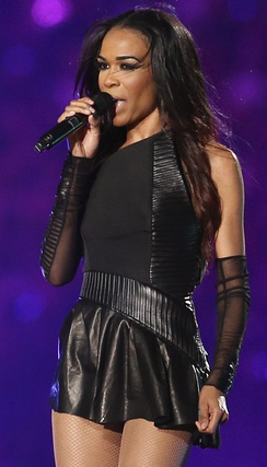 Williams at Super Bowl XLVII halftime show