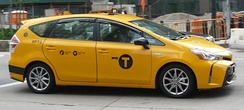 Yellow medallion taxicabs are widely recognized icons of the city
