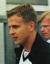 Bierhoff training with Germany, c. 1999