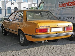 By this stage most Opel Rekords came with four doors