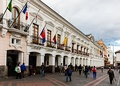 Municipal Palace in the Plaza Grande.