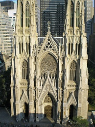 Saint Patrick's Cathedral in New York City