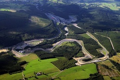 Circuit de Spa-Francorchamps, where the race was held.