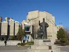 The state university Ss. Cyril and Methodius in Skopje