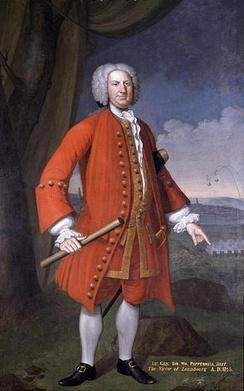 William Pepperell (1696-1759) of Kittery, Maine, a prosperous shipbuilding family