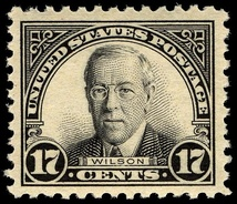 The 1st Wilson stampIssue of 1925