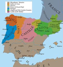 Испания и Португалия в 1210 году