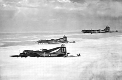 91st Air Refueling Squadron KB-29P Superfortress formation 1951