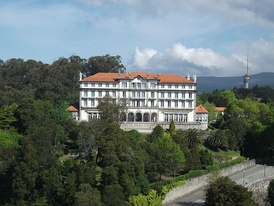 Pousada de Viana do Castelo, occupying an early 20th-century hotel