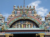 Detail of the Meenakshi Temple
