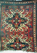 "Armenian ""eagle"" or ""sunburst"" carpet"