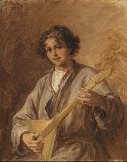 Beer, Russian boy with balalaika.jpg