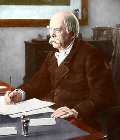 Otto von Bismarck became Chancellor of a united Germany after defeating France in 1871