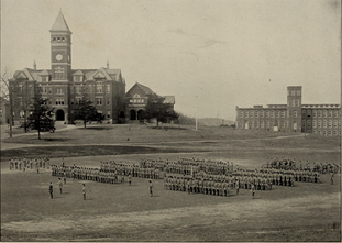 Corps of Cadets at Clemson College in 1904