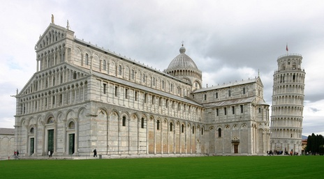 View of the Piazza dei Miracoli