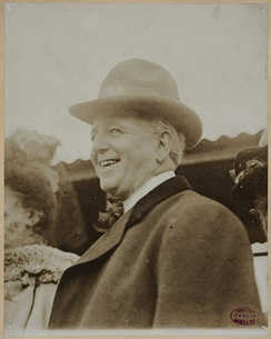Charles Comiskey, shown here circa 1910, guided the Browns to four American Association titles.