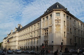 Exterior of the Lycée Louis-le-Grand, facing the rue St Jacques