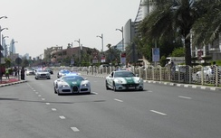 Dubai Police operates a fleet of exotic cars