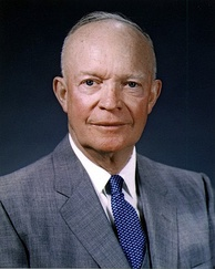 Dwight Eisenhower, 34th President of the United States (1953–1961)