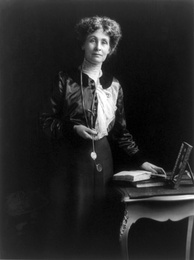Emmeline Pankhurst. Named one of the 100 Most Important People of the 20th Century by Time, Pankhurst was a leading figure in the suffragette movement.[211]