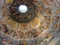 Interior of the dome of Florence Cathedral