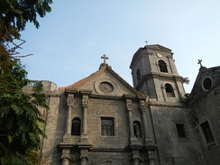 San Agustin Church, which was built in 1604 is a UNESCO World Heritage Site.