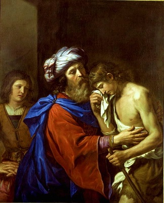 The Parable of the Prodigal Son by Guercino, 1651