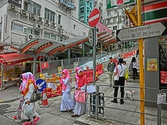Indonesian women in Hong Kong
