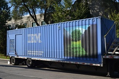 A 40-foot Portable Modular Data Center