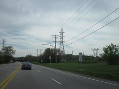 IL 53 and IL 7 southbound