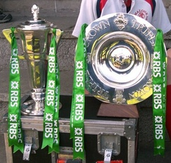 The Original Six Nations Championship Trophy (1993–2014) and The Triple Crown Trophy