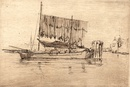 Fishing Boat, 1879–80; etching on laid paper