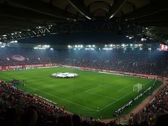 Inside the Karaiskakis Stadium