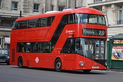 A New Routemaster bus operating in London