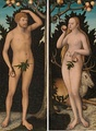 The Adam and Eve by Lucas Cranach the Younger.