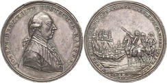 Medal commemorating the Austrian Victory over the Ottoman Empire and the Siege of Belgrade.