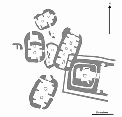 General plan of the site.
