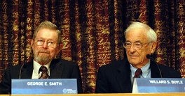 George E. Smith and Willard Boyle, 2009