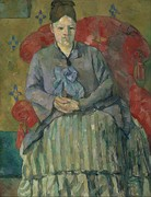 Paul Cézanne, Madame Cézanne in a Red Armchair, 1877