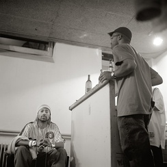 Madlib and J Rocc in Cologne, Germany, in 2003