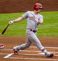 Scooter Gennett had four home runs in a 2017 game, nearly completing a home run cycle.