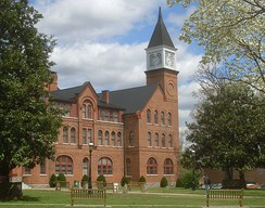 The Cherokee Female Seminary was built in 1889 by the Oklahoma Cherokees.