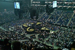 Prince's stage for his sold out performance of 2007